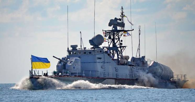 Кораблі ВМС України прориватимуться на Азовське море через Керченську протоку