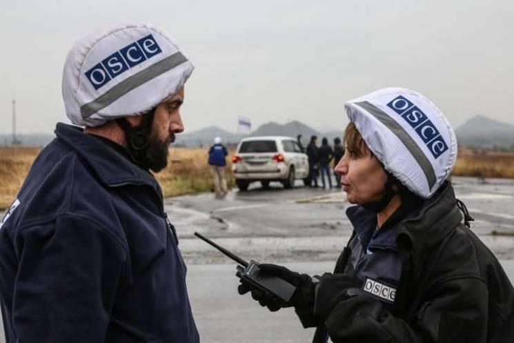 Бойовики не допустили місію ОБСЄ до моніторингу в районах Верхньошироківське та Бетманове