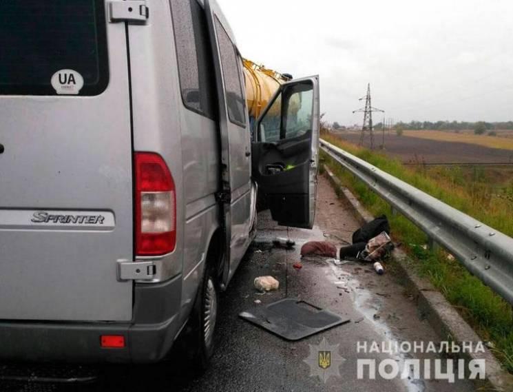 На Полтавщині зіткнулись молоковоз та мікроавтобус, є загибла та постраждалі (ФОТО)
