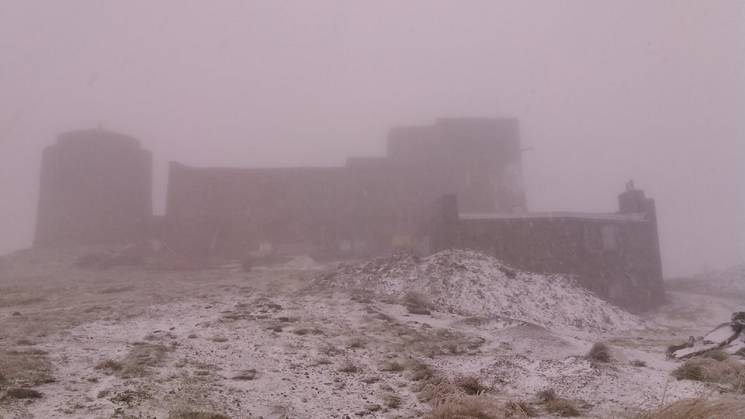 У Карпатах випав осінній сніг (ФОТО)