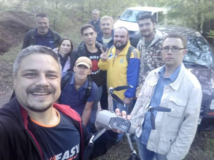 Відомий активіст з Дніпра загубився у лісі разом з другом, автівкою та квадрокоптером