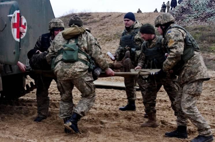 Дев'ятеро українських бійців дістали поранення минулої доби на Донбасі