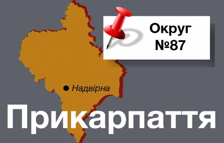 """Округ №87: Чи зможе """"рука Саакашвілі"""" знову стати депутатом від Прикарпаття"""