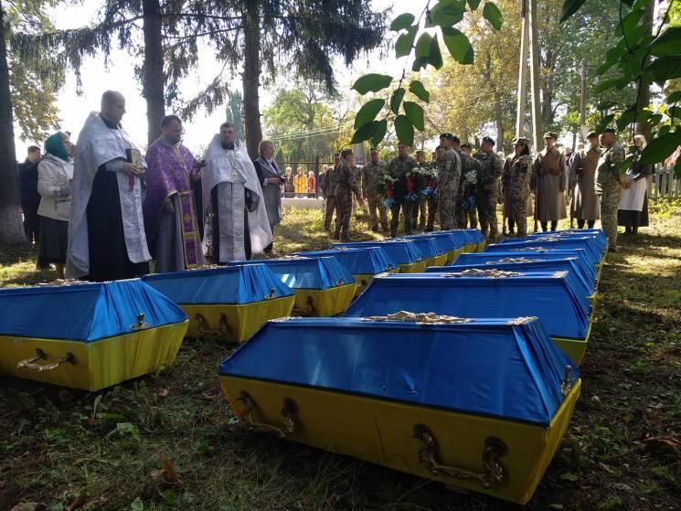 На Вінниччині перепоховали останки воякі…