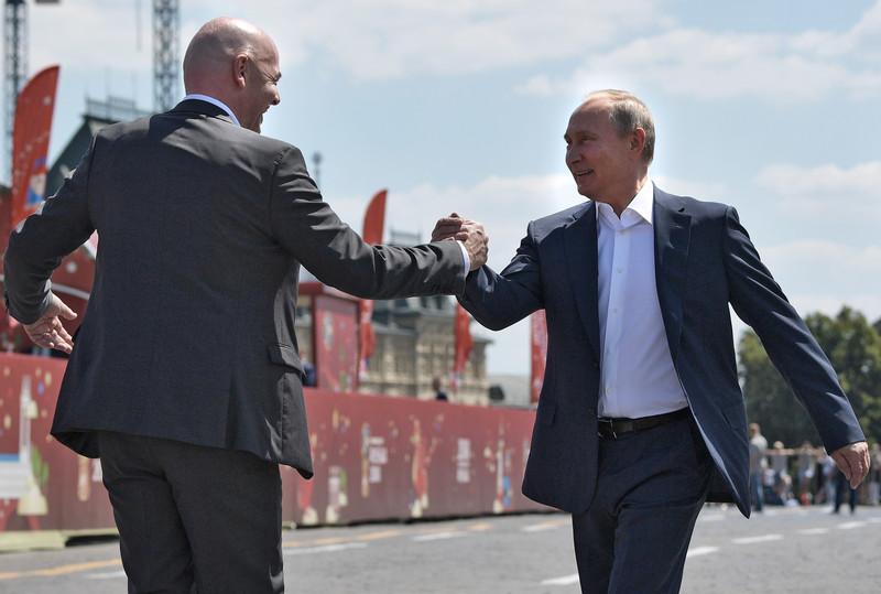 Путин пригласил сборную Российской Федерации на рассмотрение итогов чемпионата
