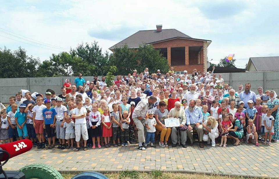 Найбільша родина живе вОдеській області - майже 350 осіб