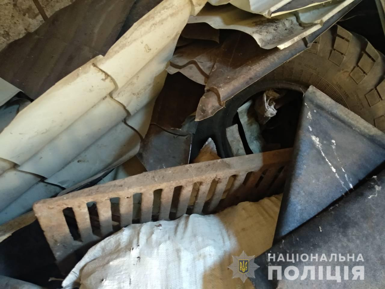 76142aef4ced На Харьковщине поймали мужчин, которые украли центнер металла ...