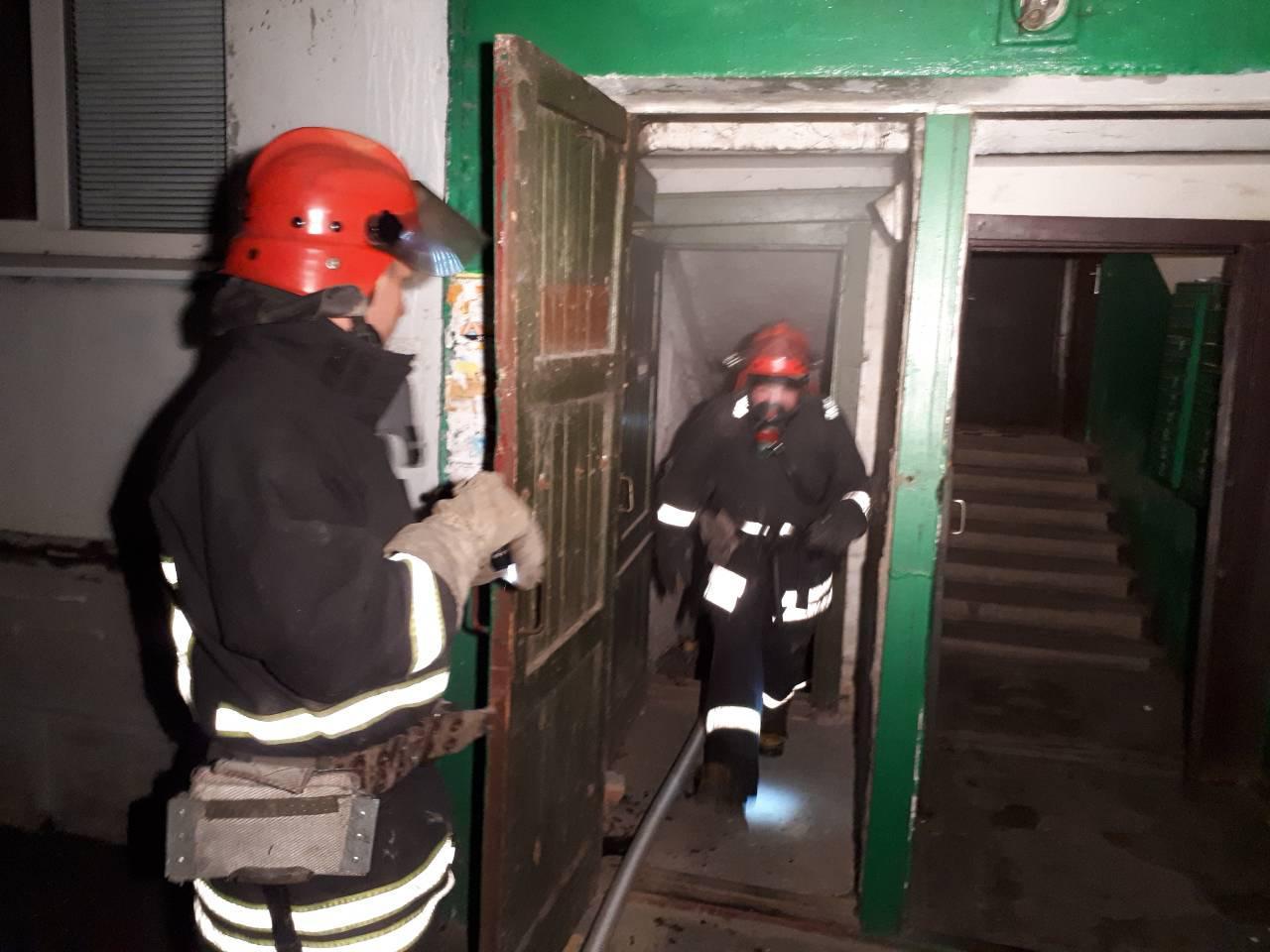 Впродовж минулої доби безхатченки вчинили дві пожежі в Івано-Франківську